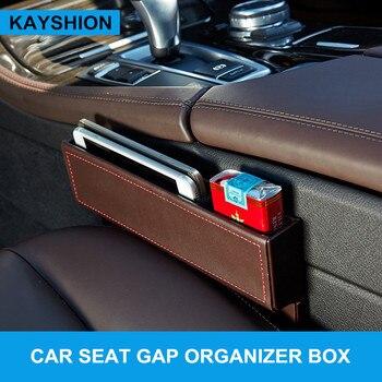 Leather car seat crevice storage box multi-purpose auto gap organizers carrying pocket car seat gap store content box black футболка gap gap ga020emefzt4