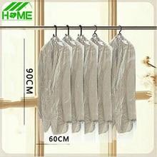 10 unids/lote Inicio Dress Garment Clothes Cubierta Del Juego Caso Organizador Bolsa de Almacenamiento de Bolsas de Vacío Ropa A Prueba de Polvo Organizador Set