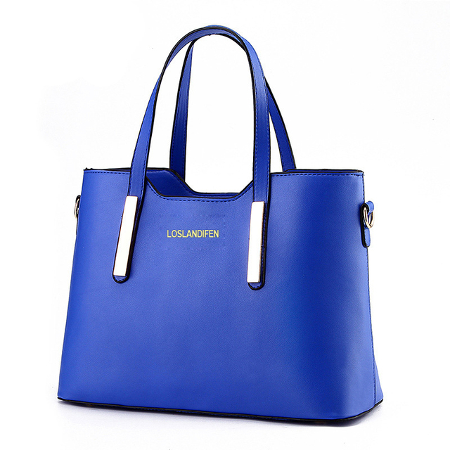 new Fashion leather bag ladies tote Shoulder bag handbags women ...
