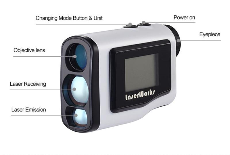 Entfernungsmesser Jagd Beleuchtet : Laserworks forstwirtschaft laser entfernungsmesser digitale äußere