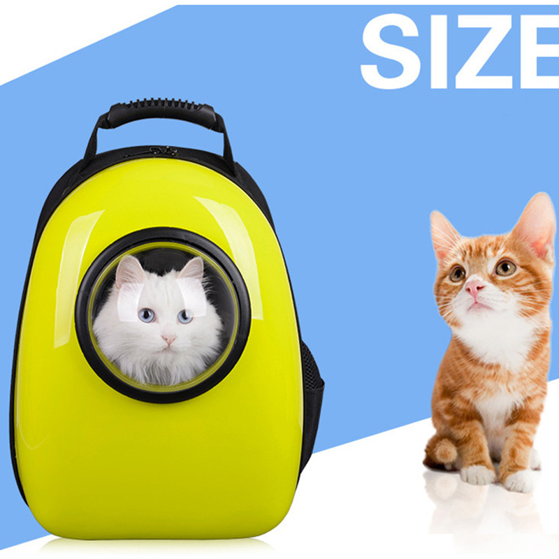 9392393aab Fashion Space Cabin Pet Carrier Dog Bag Breathable Dog Backpack Cat Carrier  Outside Portable Cat Transport Bag For Dog Cat Bag-in Carriers   Strollers  from ...