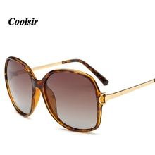 Coolsir Hot 2017 New Concise Style Woman Elegant Thin Frame Polarized Cat Eye Sunglasses 6 Colors P9217