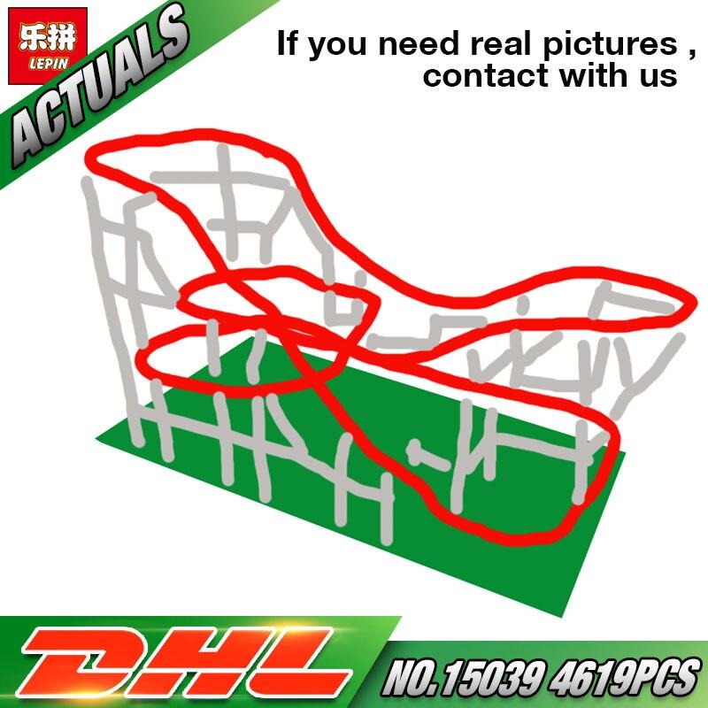 En Stock DHL Lepin 15039 La 10261 Rouleau Drôle Modèle Coaster Ensemble Série Bâtiment Buidling Blocs Briques Enfants Jouets Modèle cadeaux