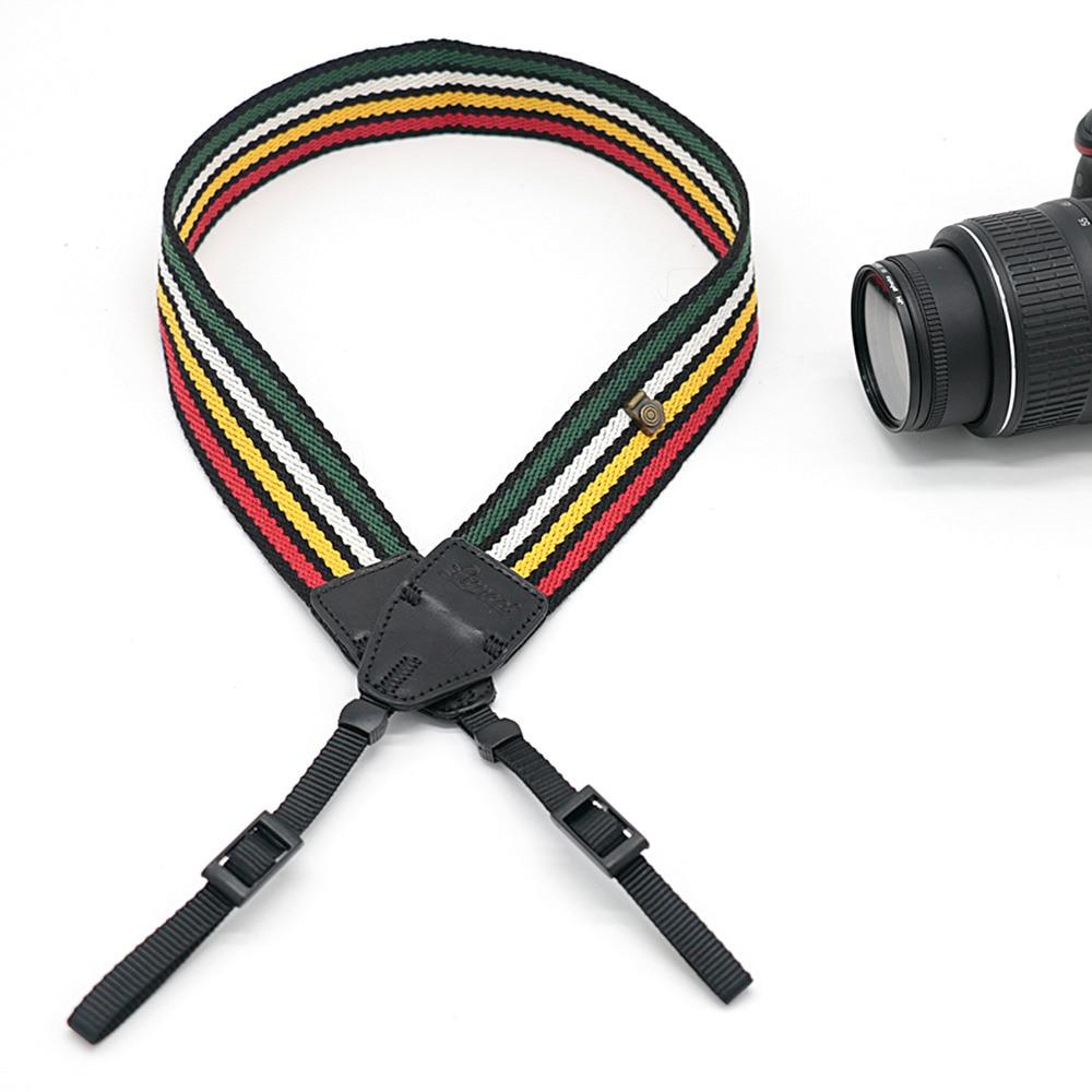 Colorful ribbon LO-09 Camera Shoulder Strap Sling Shooting Belt Strap For SLR DSLR For Canon Nikon Sony Camera