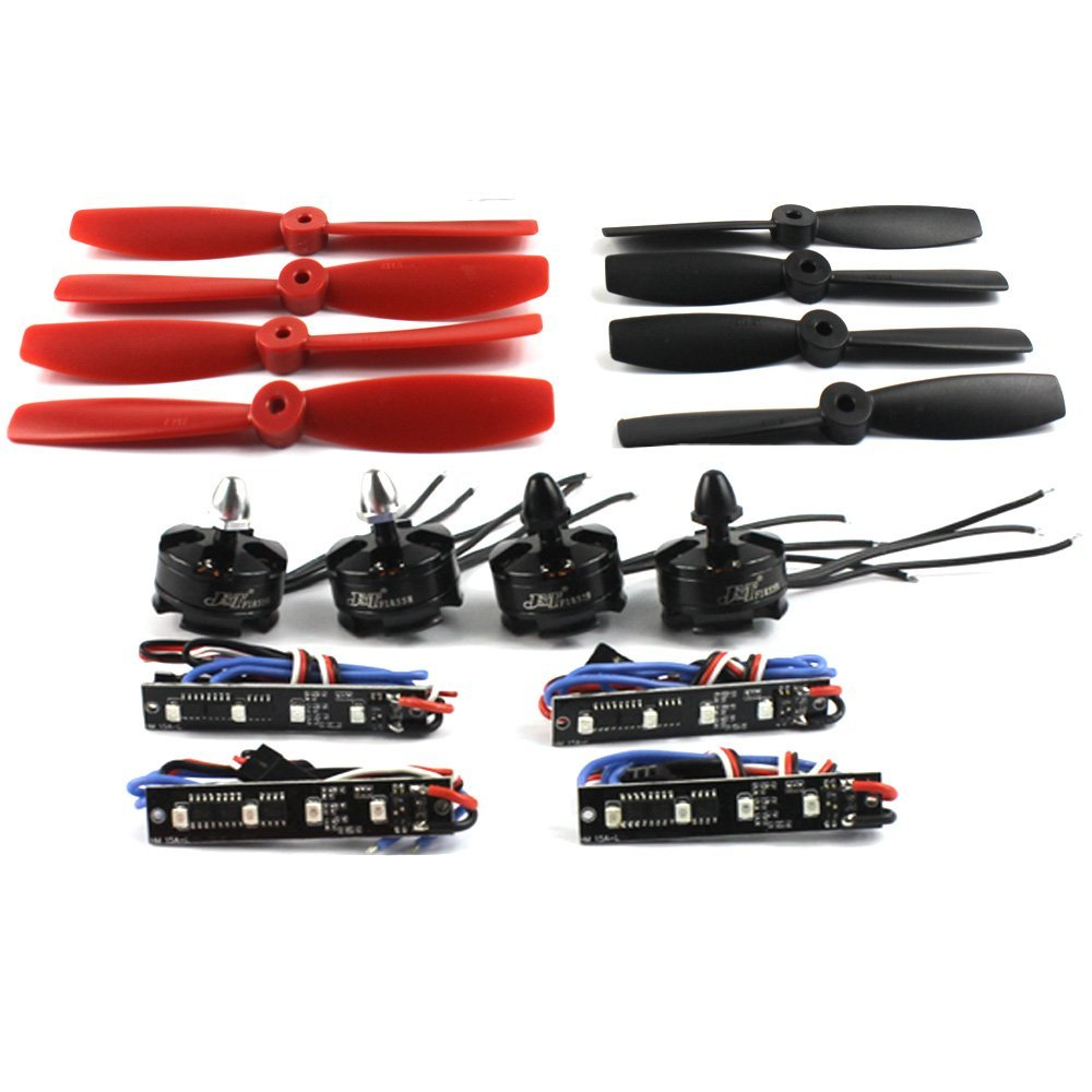 F17487-B Mini Racing Drone 210/250/270 Quadcopter Brushless DIY Combo Set  Propellers & ESC LED Light & 2204 2300KV Motor mini 250 quadcopter accessories portable protective carrying bag waterproof nylon for diy rtf 250 size racing drone f18682