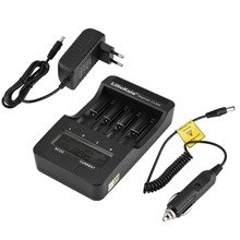 LiitoKala Lii-500 smart charger LCD charger for 3.7V 18650 18350 18500 16340 17500 25500 10440 14500 26650 1.2V AA AAA battery цена