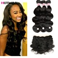 8A Malaysian Body Wave With Closure Ear To Ear Lace Frontal Closure With Bundles Ms Lula Body Wave Hair With Closure And Bundles