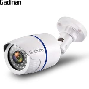 Image 1 - GADINAN IP Camera 5MP 3MP 2MP PoE Security Outdoor Bullet Surveillance Camera  CCTV IR Night Vision H.265 CCTV Home Camera XMeye