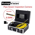 DHL libre AP70 20 m profesional Pipeline inspección del endoscopio de la Cámara 7 Pantalla LCD 6.5/17/23mm tubería de alcantarillado cámara de inspección