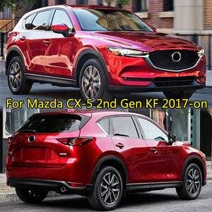 Image 5 - Dla Mazda CX 5 CX5 KF 2017 2018 2019 Chrome przednie tylne światło przeciwmgielne Taillight boczne lustro listwa przykrywająca dekoracji samochodu stylizacji