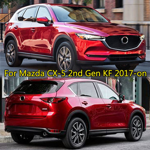 Image 5 - For Mazda CX 5 CX5 KF 2017 2018 2019 Chrome Front Rear Fog Light Taillight Side Mirror Trim Cover Strip Decoration Car Styling