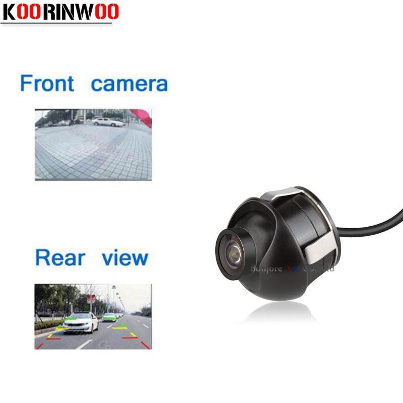 Koorinwoo Waterproof HD Car Rear View Camera 170 Degree Wide View 360 Deg Adjustable Night Vision Reverse Backup / Front Camera
