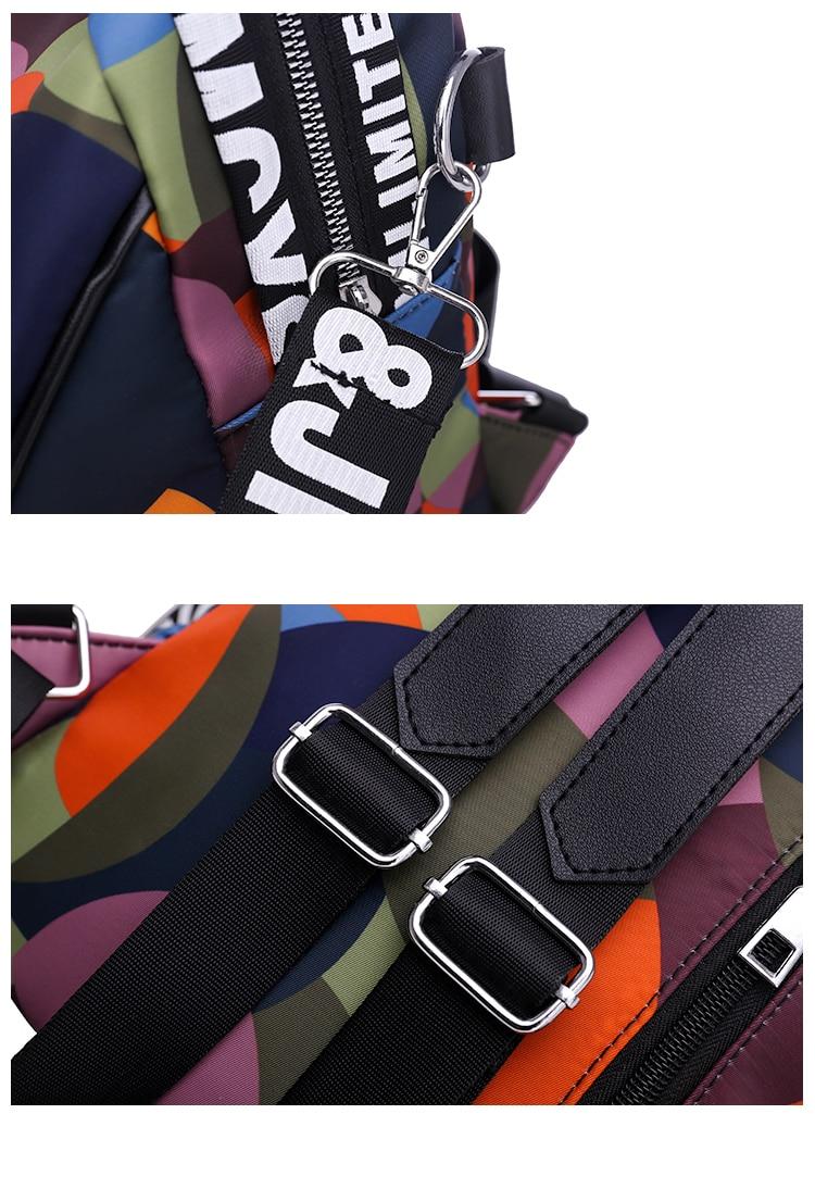 HTB1DGT6bcnrK1RjSspkq6yuvXXaE New Multifunction Backpack Women Waterproof Oxford Bagpack Female Anti Theft Backpack Schoolbag for Girls 2019 Sac A Dos mochila