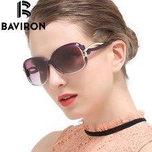 BAVIRON Розетки Дизайн Солнцезащитные Очки Женщины На Открытом Воздухе Поляризованные Очки Роскошные Дамы Бабочка Красочные UV400 Защиты Очки 2229