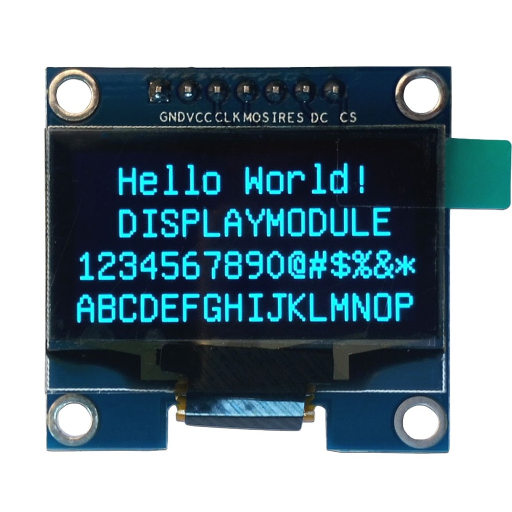 1.3 inch 128X64 OLED display module Blue 7 Pins SPI interface DIY oled screen diplay compatible for Arduino 2 42 12864 lcd oled display module spi iic i2c oleds blue screen 3v 5v 2 42 oled ssd1309 compatible for c51 stm32 arduino diy