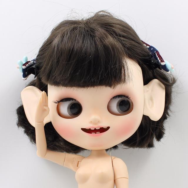 Neo Blythe Doll Special Large Resin Ears Elf Spoon Ear