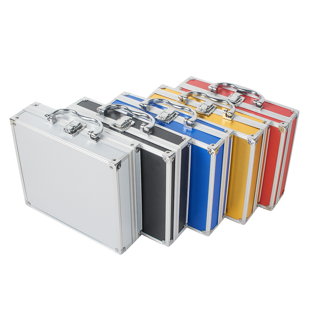 Aluminum Tool Box Case Container for Dentist Dental Surgical Medical Binocular Loupes Optical Glass Loupe Led Head Light Lamp