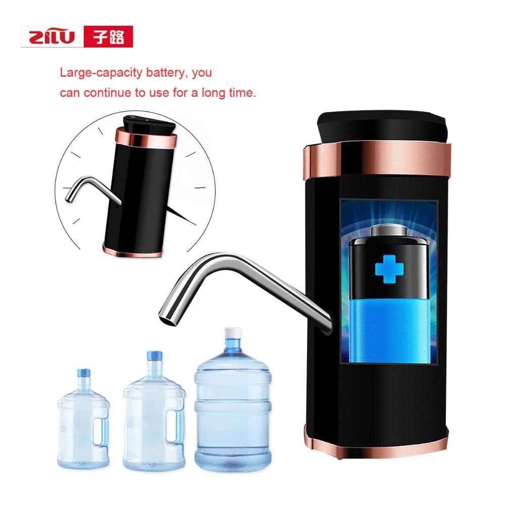 Double Pump Smart Touch Water Dispenser Wireless Electric Water Bottle Pump Drinking Water Bottles
