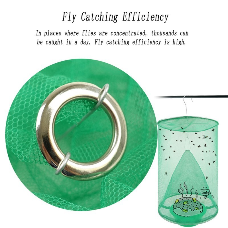 Image 5 - 2019 NEW Flycatcher Mosquito Trap Catcher The Ultimate Red Drosophila Fly Trap Top Catcher Fly Wasp Insect Bug Killer-in Traps from Home & Garden