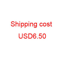 E-packet extra shipping cost USD6.50 for fast shipping delivery cost