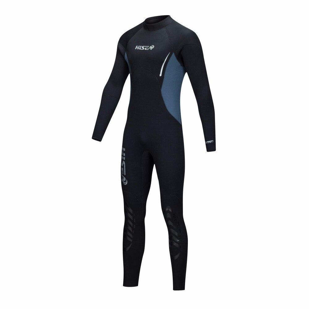 Combinaison de plongée pour hommes de 5 MM à manches longues combinaison de plongée à manches longues - 3