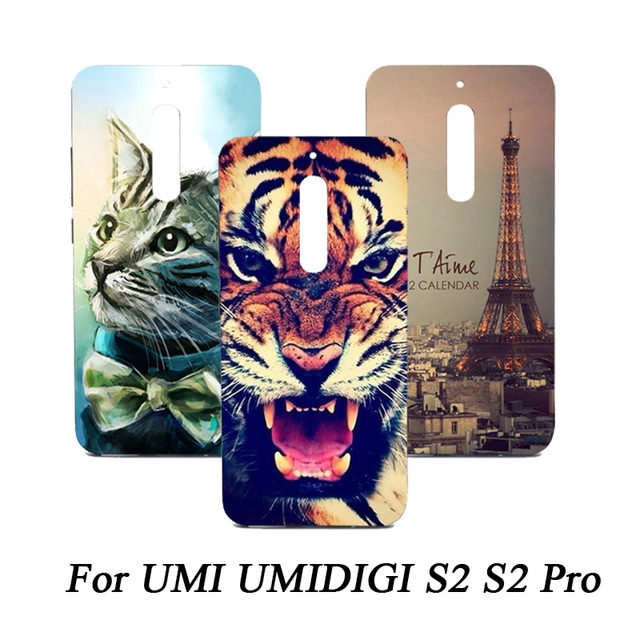 Cartoon phone Case For UMI UMIDIGI S2 Case Cover 6.0 inch Fashion Patterns Painting SOFT TPU silicone Case Cover For UMI S2 Pro