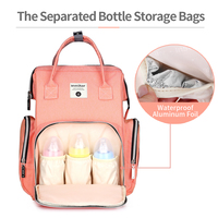 Insular Baby Diaper Bags Backpack Baby Nappy Changing Bag Thermal Bag For Baby Strollers Organizer Waterproof