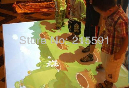 Free DHL delivery cost of Interactive floor projection for advertising, exhibition , best quality and low price