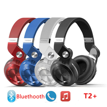 Fashion Sport T2+ Blutooth Wireless Headphone with Microphone Auriculares Audio Support Memory Card For Your Head Phone Headset