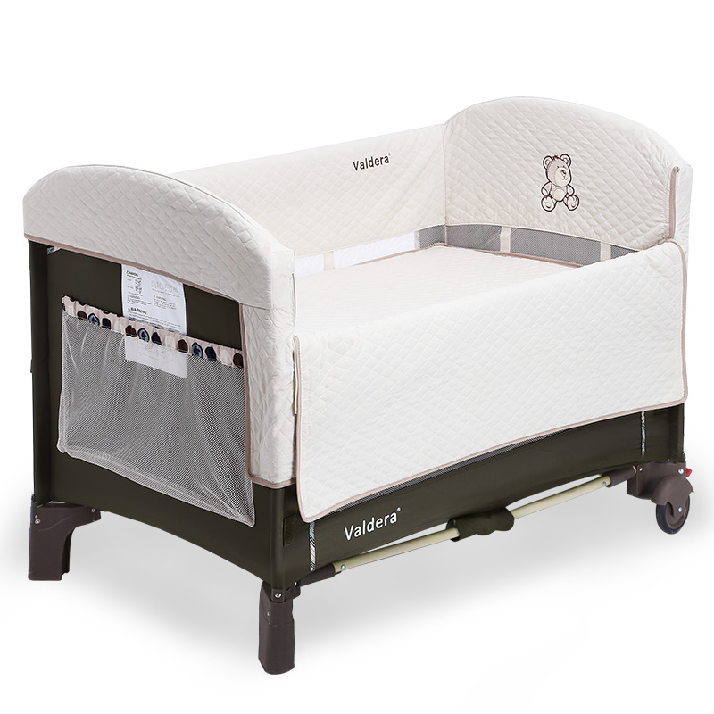 2017 Hot Sale Cribs For Twins Babies Baby Beds High Quality 3 Color Baby Game Bed Joint With Mum Newborn Cradle Send Bedding