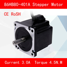 цены Jtengsys CE ROSH 86HB80-401A Stepper motor torque 4.5N.M Phase current 3A for automation equipment 3d printer cnc