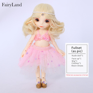Image 4 - Free Shipping Realfee Mari Doll BJD 1/7 Little Mermaid Fantastic Ball Jointed Dolls Toy For Children Unique Gift Fairyland