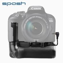 Spash мульти-мощность Вертикальная Батарейная ручка для Canon 800D Rebel T7i 77D Kiss X9i батарея камеры DSLR держатель работает с LP-E