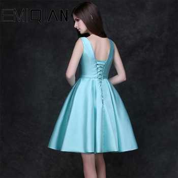 NEW Elegant Homecoming dresses Short Graduation Gown Sky Blue Short Prom dress