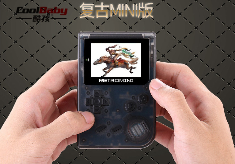 DHL Coolbaby RS 90 Retro Mini Handheld Game Player 32Bit Portable Game Console Built in 36