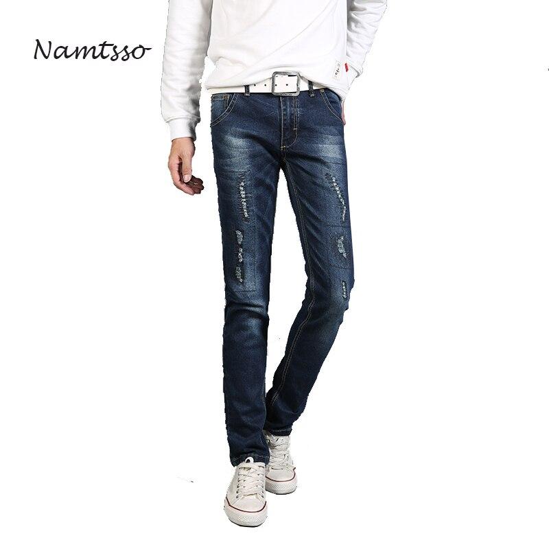 Aumtumn Men's Jeans High Stretch Catch lines Denim Brand Men Jeans Size 30 32 34 35 36 38 40 42 Super Value Pants Trousers 670 brand mens jeans high quality men s camouflage straight stretch pants denim trousers size 38 40 jeans for men a989