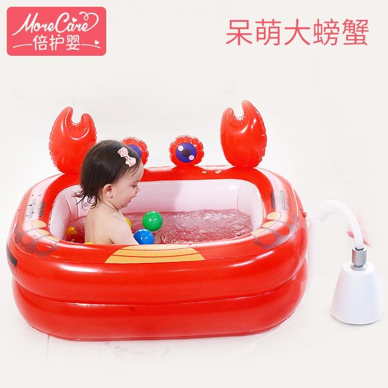 Bébé soins bébé piscine isolation baignoire bébé nouveau-né piscine bébé de bande dessinée forme océan piscine
