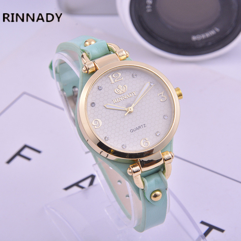 2017 new 5 color jewelry Mini watch fashion gift table women Watches Jewel gem quartz wristwatches Relogio Feminino Reloj Mujer