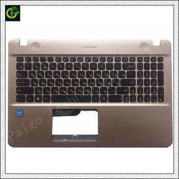 95% nuevo teclado ruso con palmrest para Asus X541 X541U X541UA X541UV X541S X541SA X541UJ R541U R541 X541L caso.