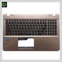 95% جديد الروسية لوحة المفاتيح مع palmrest غطاء ل Asus X541 X541U X541UA X541UV X541S X541SA X541UJ R541U R541 X541L حالة RU