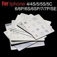 12pcs Lot High Quality Full Set BGA Reballing Stencil Dedicate Kit For IPhone 4 4s 5