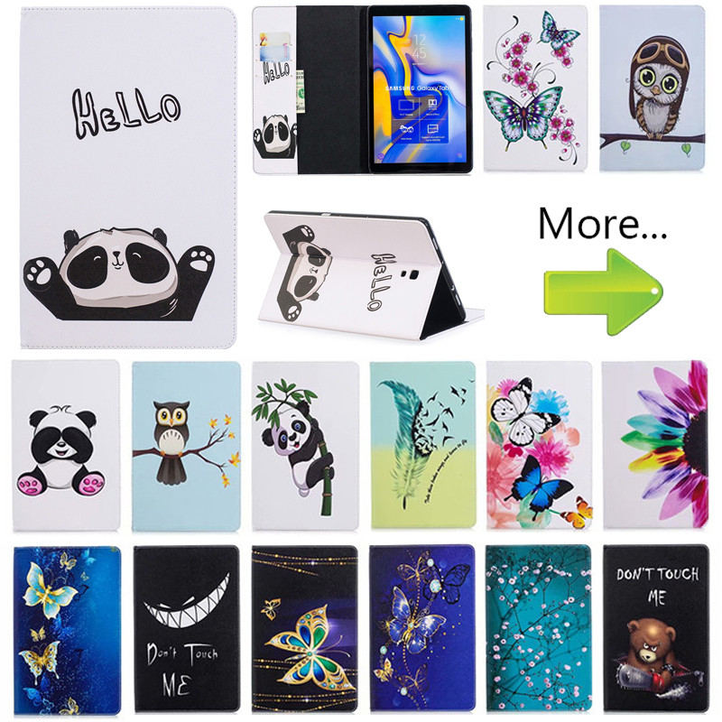 Flip Owl Bear Case For Samsung Galaxy Tab A A2 10.5 2018 T590 T595 T597 SM-T595 Smart Cover Funda Tablet Sleep Wake Stand ShellFlip Owl Bear Case For Samsung Galaxy Tab A A2 10.5 2018 T590 T595 T597 SM-T595 Smart Cover Funda Tablet Sleep Wake Stand Shell