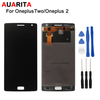 100 New 5pcs Lot LCD For Oneplus Two 1 2 LCD Display And Touch Screen Digitizer