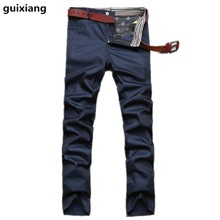 2017 new arrival trousers men's casual style  trousers men high quality 100% cotton pants and cargo pants size 30-42