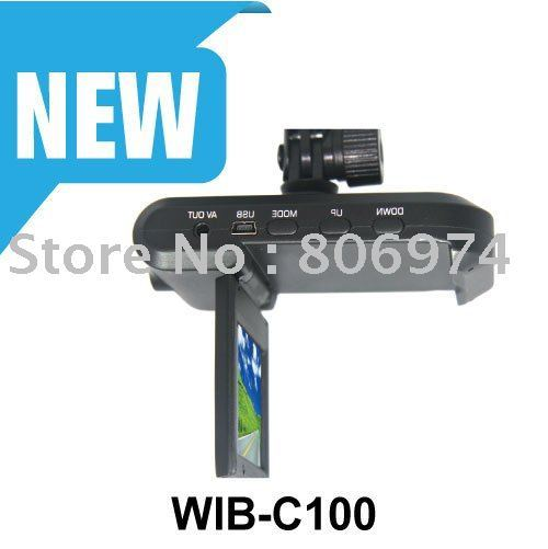 Hot Sale High-definition Good Quality Car Camera Recorder vehicle car camera dvr video recorder C100