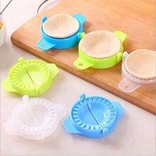 5pcs Kitchen Accessories Plastic Pack Dumpling Maker Molds Dumpling Tool Cooking Pastry Tools Random Color цена 2017