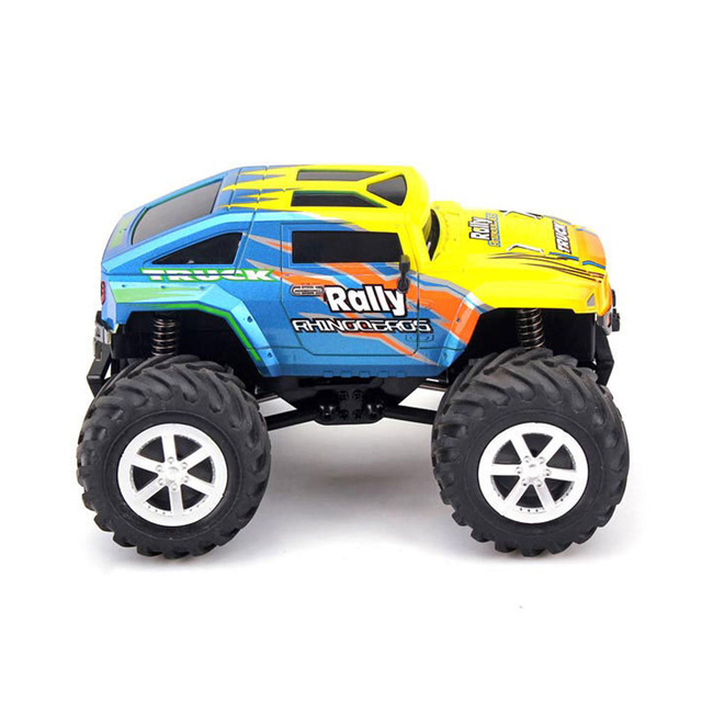 4WD Rock Crawlers RC Car 2.4GHz Rally Climbing Car Stunt Racing Bigfoot Car Remote Control Model Off-Road Vehicle Boy Toy