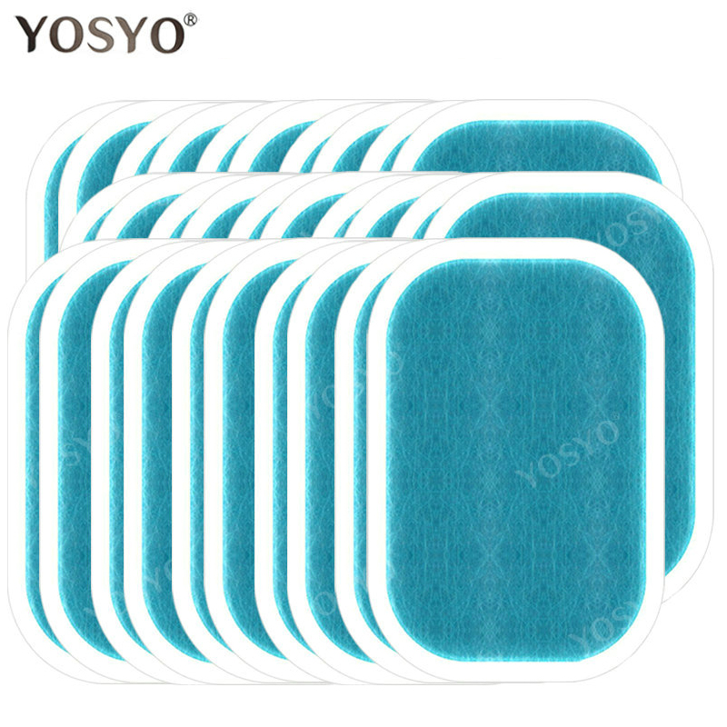 5/10/15Pair Replacement Gel Pads For EMS Trainer Weight Loss Abdominal Muscle Stimulator Exerciser Replacement Massage Gel(China)