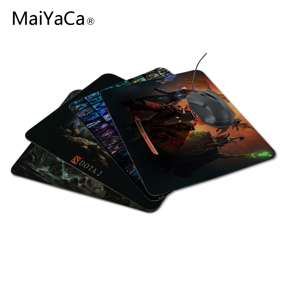 MaiYaCa Unique Design DOTA 2 Mouse Mats Size 220mmX180mmx2mm Gaming Desk Pad Mouse Pad The Best Choice For Gifts