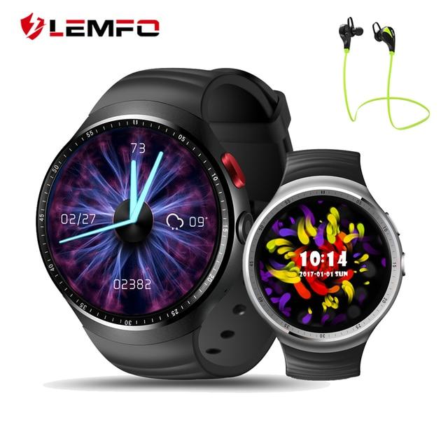 2017 Best часы LES1 ОС Android 5.1 Смарт-часы телефон 1 ГБ + 16 ГБ Поддержка 3 г WI-FI Bluetooth reloj inteligente Android для Iphone